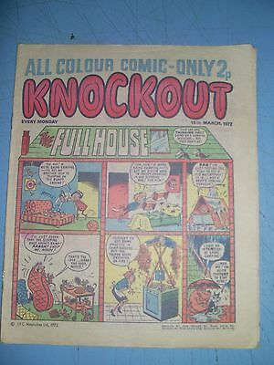 Knockout issue dated March 18 1972