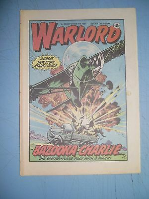 Warlord issue 366 dated September 26 1981