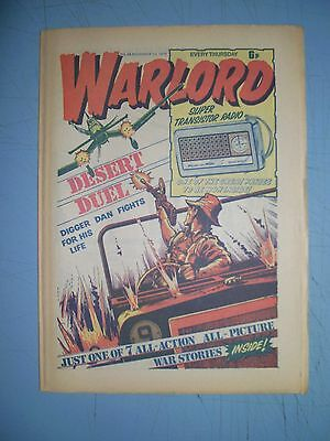 Warlord issue 58 dated November 1 1975