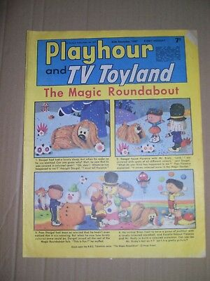 Playhour and TV Toyland issue dated December 30 1967