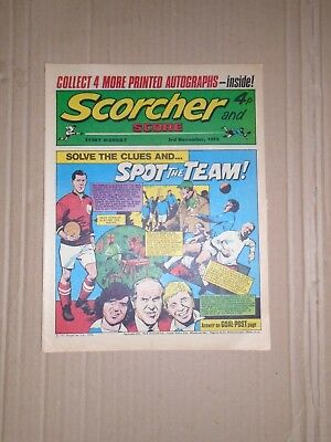 Scorcher and Score dated November 3 1973