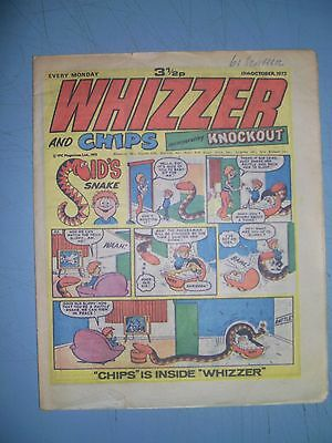 Whizzer and Chips issue dated October 13 1973