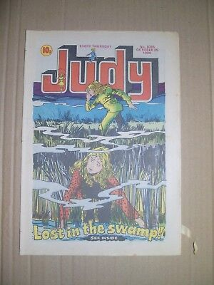Judy issue 1085 dated October 25 1980