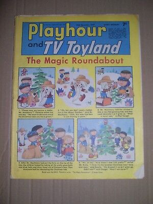 Playhour and TV Toyland issue dated December 16 1967