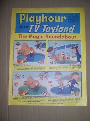 Playhour and TV Toyland issue dated December 2 1967