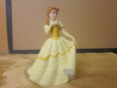"Disney Beauty and the Beast - 6"" BELLE Porcelain Figurine -Matte Finish"