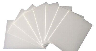 2mm A5 White Polystyrene High Impact Plasticard HIPS Sheet Packs of 1, 3, 5 & 10
