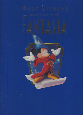 Walt Disney's Fantasia 1991 Deluxe Collector's Edition Video Vhs Factory Sealed