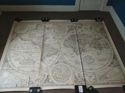 MAP John Speed starting in 1626 size 77 inches by 105 inches
