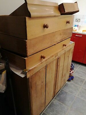 Victorian Rustic Pitch Pine Chest of Drawers