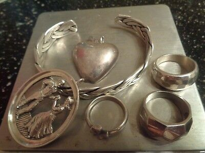 Beautiful Sterling Silver mixed Jewelry Lot !! Including James Avery Ring !!!!