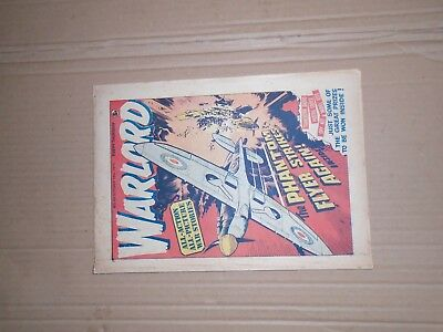Warlord issue 56 dated October 18 1975