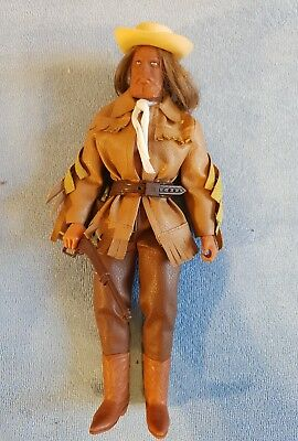 Mattel Big Jim Karl May Figur Old Surehand / Buffalo Bill, loose, komplett