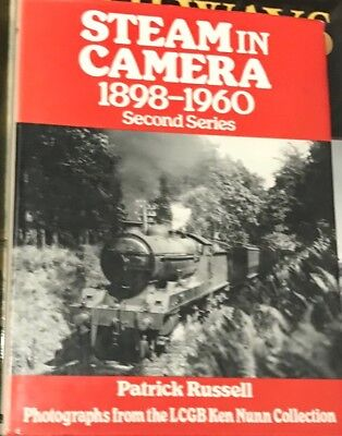 Steam In Camera 1898 - 1960 Second Series Br LNER LMS GWR Hardcover Book