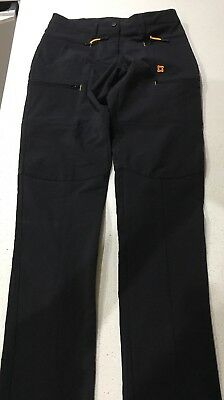 Gondwana Size 8 Hiking Pants Black