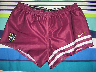 Brisbane Broncos NRL Footy Shorts- Size X Large