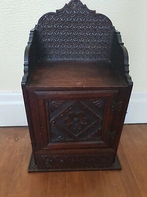 Antique Spice Tobacco Cabinet Cupboard Moorish