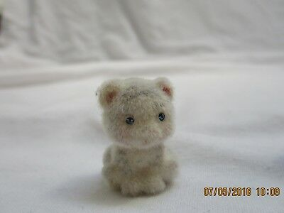 jungle in my pocket extra fuzzy small white tiger animal figure