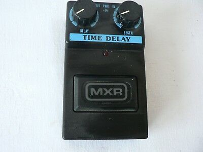 Vintage Mxr Time Delay Effects Pedal Commande Series