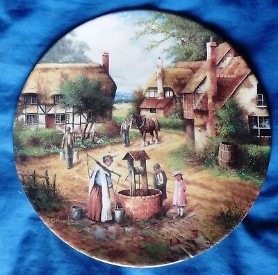 Wedgwood collectors plate Country Days Fetching the Water Chris Howells 5390C