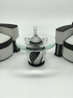 Dollhouse Miniature Artisan Jim Irish Brandy Set 3 Piece Set Exquisite (R)