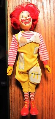 Vintage Ronald Mc Donald Doll by Remco - Movable Head