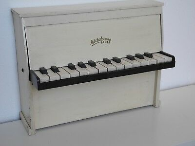 MICHELSONNE PARIS * Toy Piano * Kinderklavier * rar * 25 Tasten