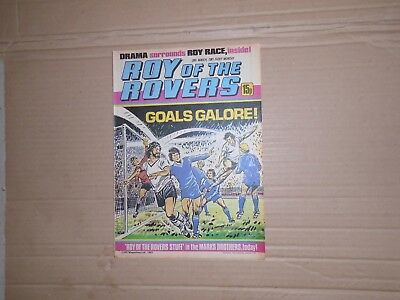Roy of the Rovers issue dated March 28 1981