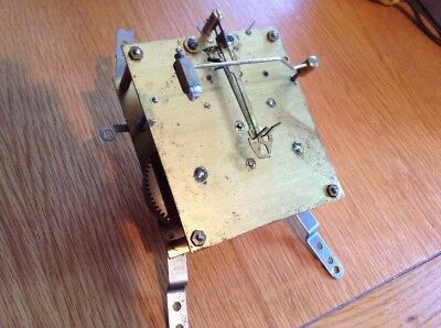 Vintage Mantel Clock Movement Working.     (A)