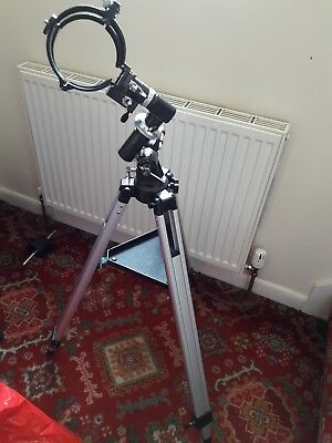 Telescope equatorial mount EQ1 with RA Motor drive.