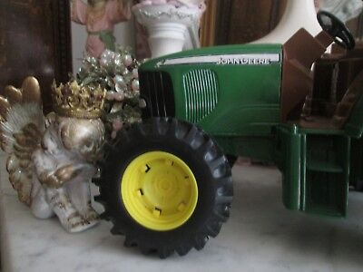 Vintage 1993 John Deere Metal Tractor - Collectible, Toy, or Crafts 10 x 7 x 6""