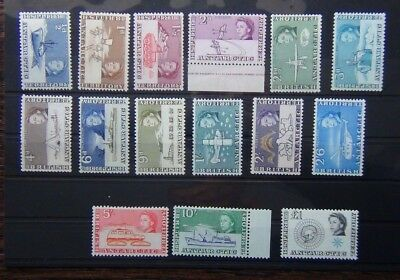 British Antarctic Territory 1963 - 1969 set to £1 VLMM