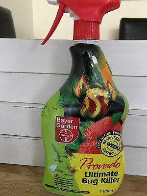 Bayer Provado Ultimate Bug Killer Ready to Use Spray 1 Litre Rapid Action