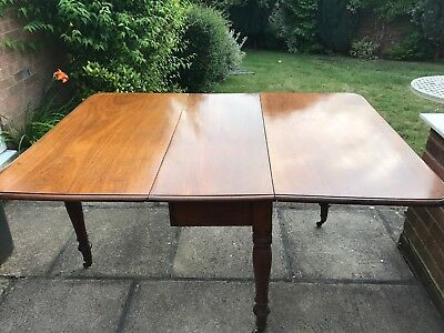Mahogony Drop-leaf Table c1860