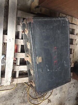 Antique Large Travelling Trunk / Case, Vintage Decorative Item