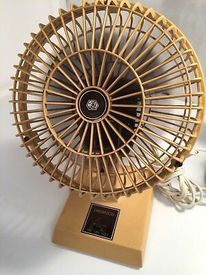 Lakewood Personal Desk Fan Vintage Model 600A RARE Made In USA