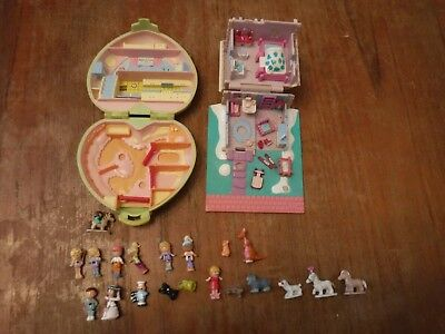 2 Polly Pocket Sets With Extras