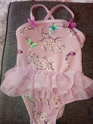 baby girl swimming costume 6-9 months
