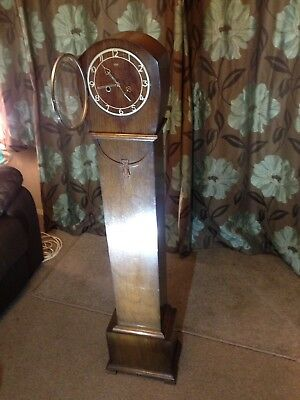 smiths enfield grandmother clock.