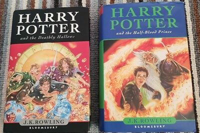 Harry potter First  edition rare Books