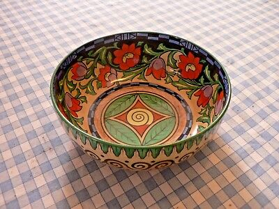 "A Stunning Art Deco Keeling & Co  ""losol"" Capri Fruit Bowl"