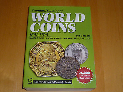 World Coins 1601 - 1700  6te Auflage  TOP