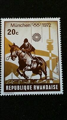 Briefmarke Republique Rwandaise 20c München 1972
