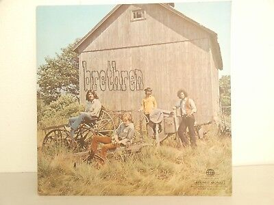 LP - Vinyl Brethren Country Rock Folk Blues USA Tiffany Records US-Pressung