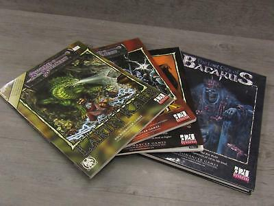 Lot of 4 Necromancer Games Adventure Modules for Dungeons And Dragons