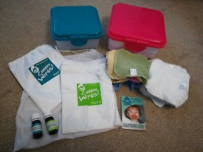 Cheeky Wipes Reusable Wipe Kit