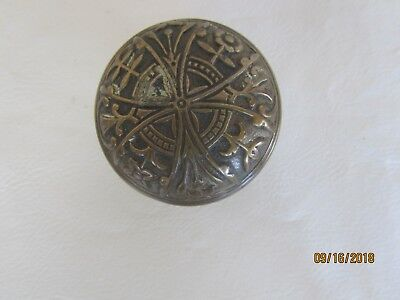 Vintage Brass Art Deco Door Knob
