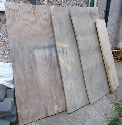 Softwood Ply, Coniferous, Sheathing – Off cuts – USED 18mm