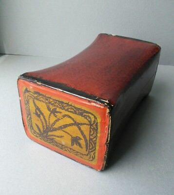 Chinese Lacquer Pillow