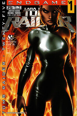 Tomb Raider: The Series #25 Nm/mint Turner Variant Cover Top Cow Image End Game